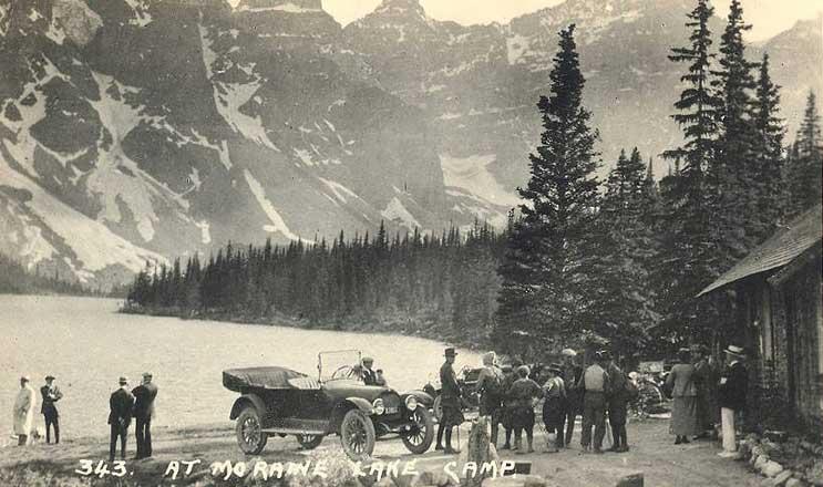 Image History 03 Moraine Lake Lodge